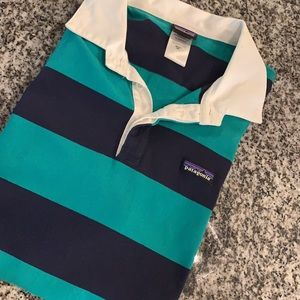 PATAGONIA Long Sleeve Polo. Size XX-Large